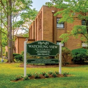Watchung View Apartments entrance